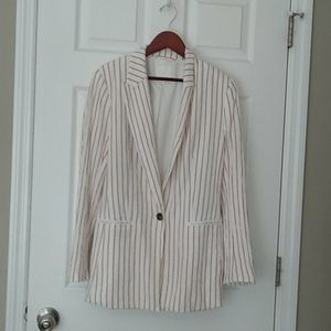 H&M fully lined women blazer size 8